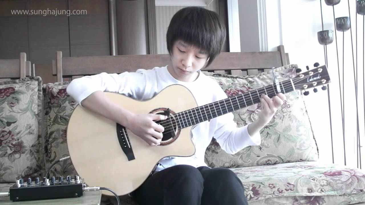 Yiruma - Kiss the Rain (Fingerstyle by Sungha Jung)